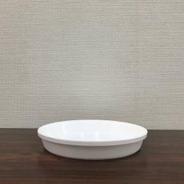 鉢皿サルーン6号ホワイト