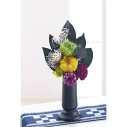 シックな色味の仏花です 特別SALE プリザーブドフラワー 仏花 はるか(一対2個セット)(花器無し)