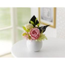 お彼岸のお手土産や贈り物に 特別SALE プリザーブドフラワー ミニ仏花 つばさ 桃