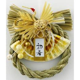 正月飾り 金色飾り 叶