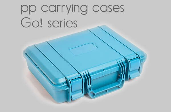 pp carrying cases.<BR>Go! series.