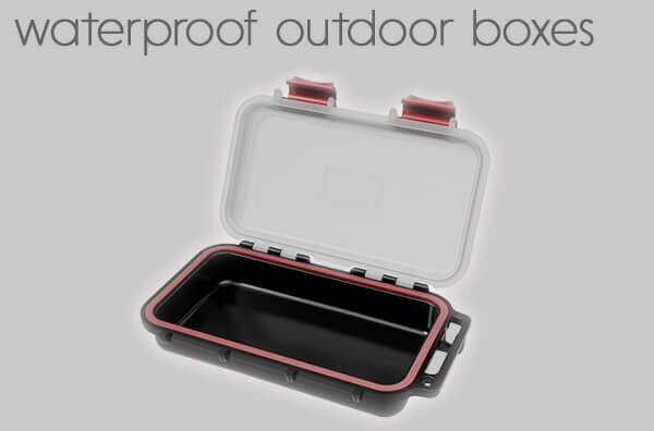waterproof outdoor cases.