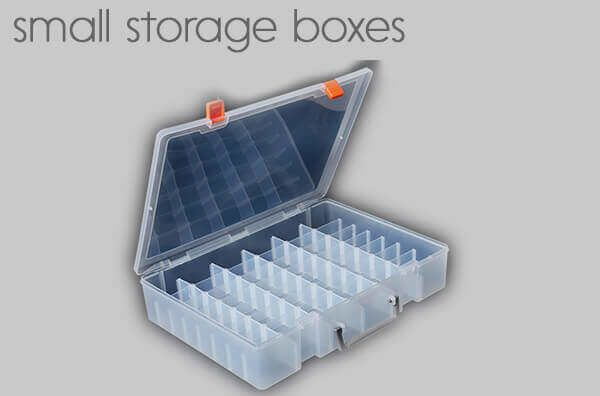small storage boxes