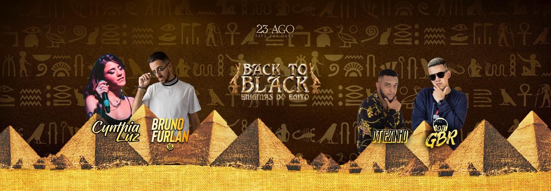 Back To Black 2019 - Enigmas do Egito