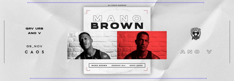 Groove Urbano: Mano Brown
