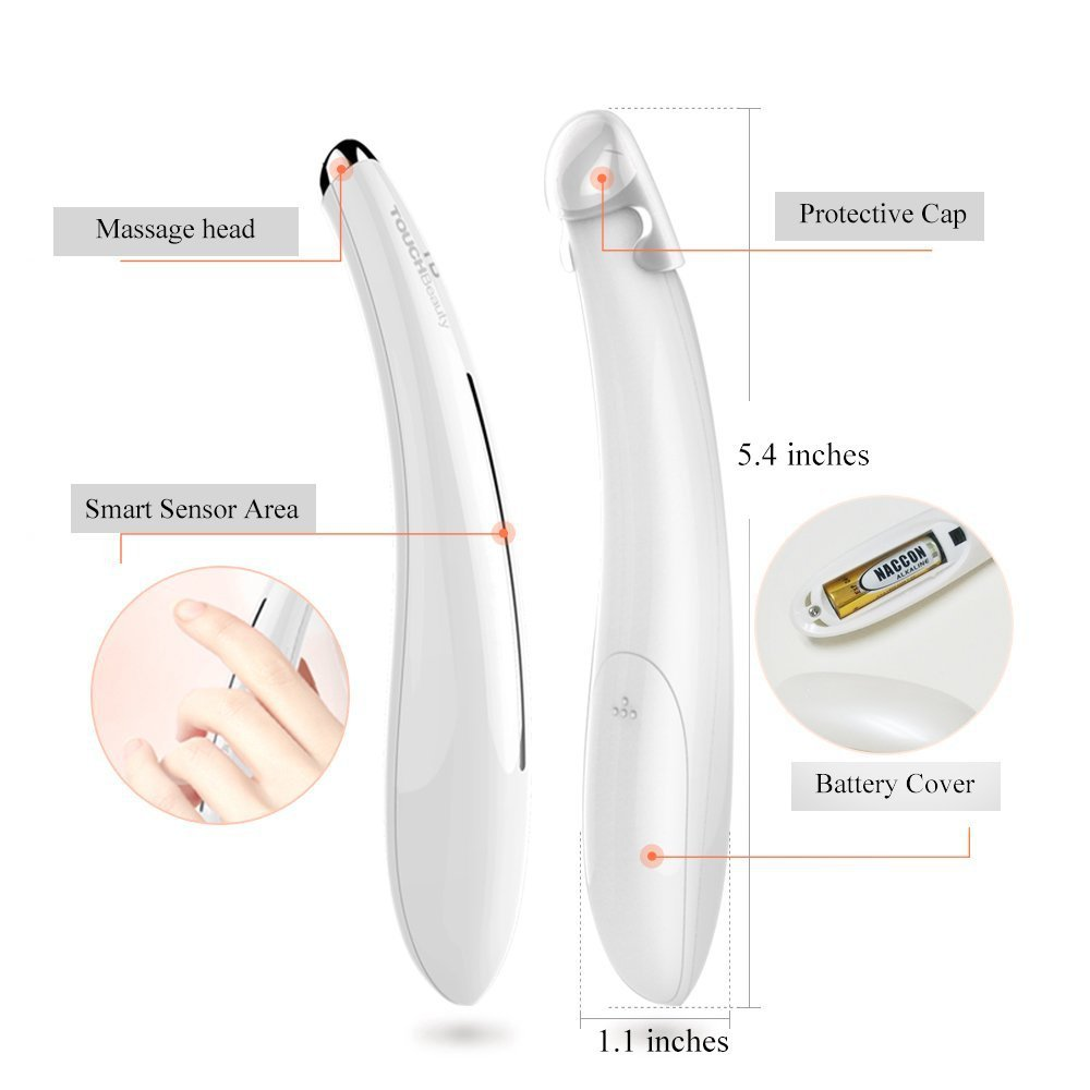 TOUCHBeauty Heated Eye Massager Wand TB-1583