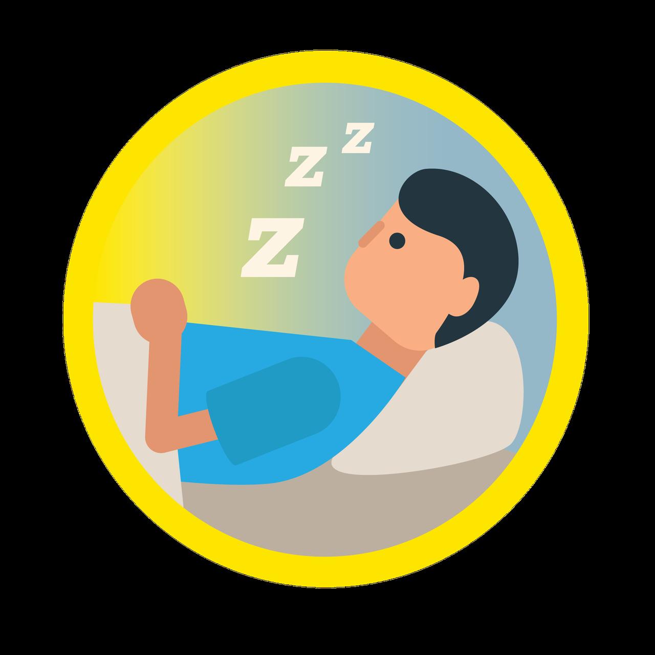 helps sleep better