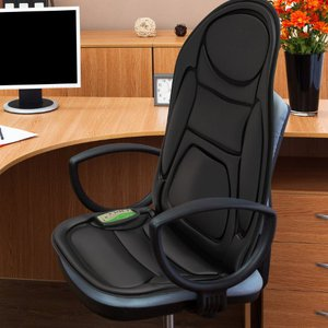 Gideon Seat Cushion Vibrating Massager with Heat Therapy