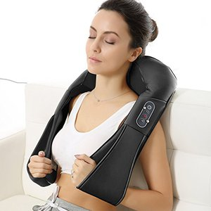 Naipo Shoulder Massager with Shiatsu Kneading Massage and Heat
