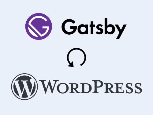 Z GatsbyJS zpět na PHP aWordPress