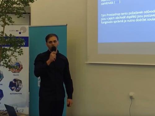 """Přednáším na téma """"Bootstrap"""" - TechMeetup 2019"""