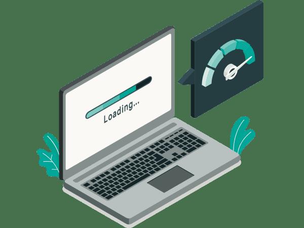 Netradiční řešení bleskově rychlého blogu