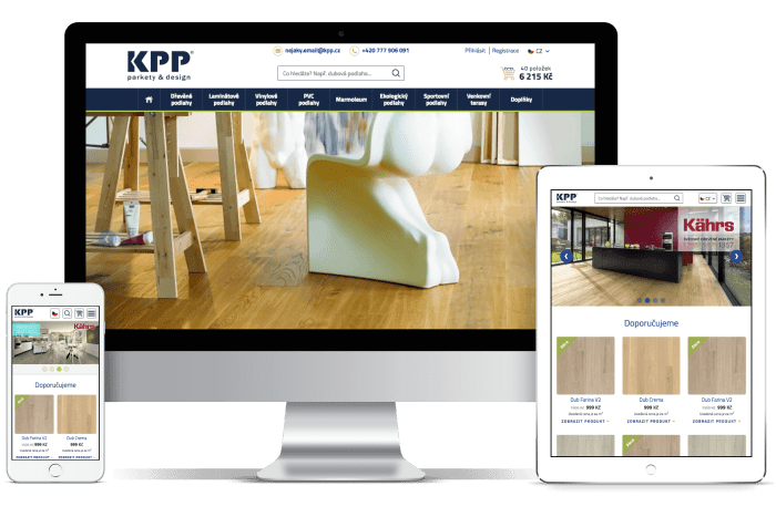 Frontend kódování pro KPP