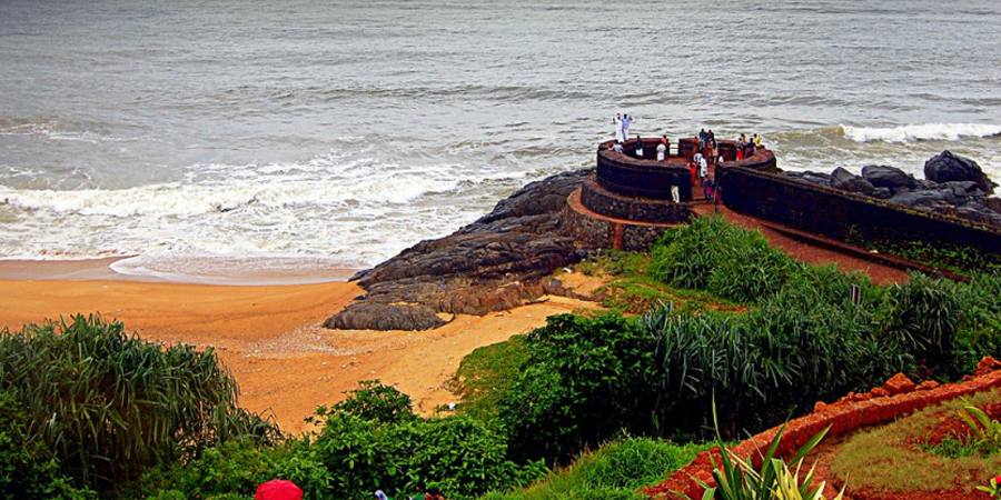Kasargod: Fort And Beach