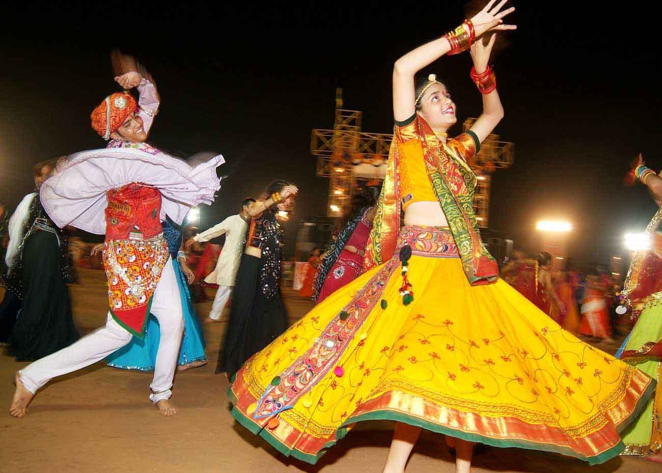 Bhil Lady Dancing during a Bhil Community Festival