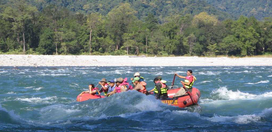 River Rafting in the Manas National Park