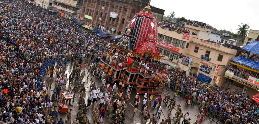 Chariot Danda And Chandak Festival Eastern India