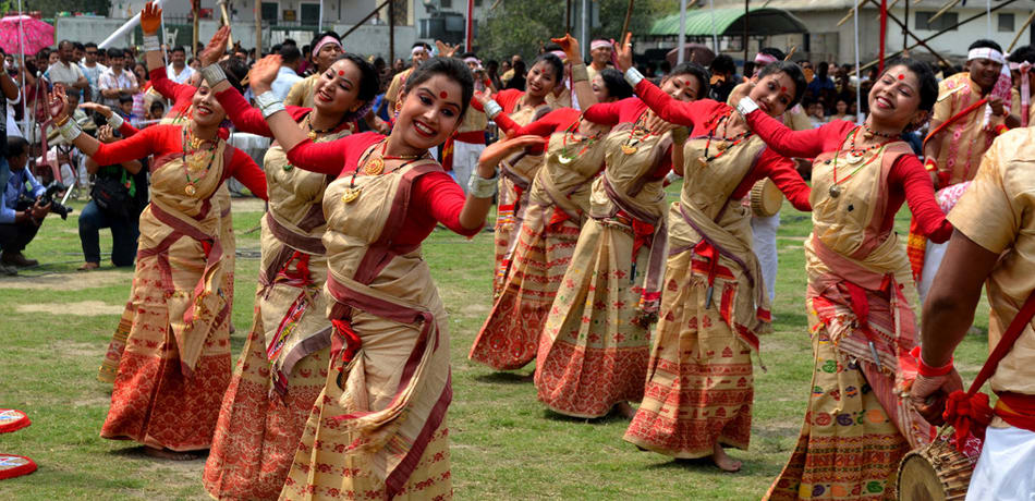 Dance By Boro Villagers
