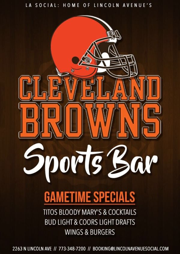 Cleveland Browns Gameday Bar