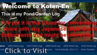 Pond Garden Log
