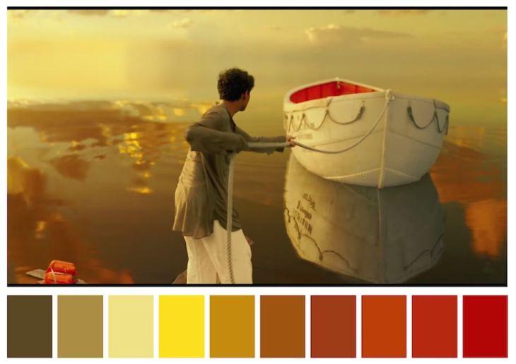 Tông màu và tâm trạng của một bộ phim