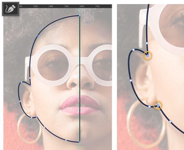 Tạo chân dung vector phong cách tối giản bằng Illustrator