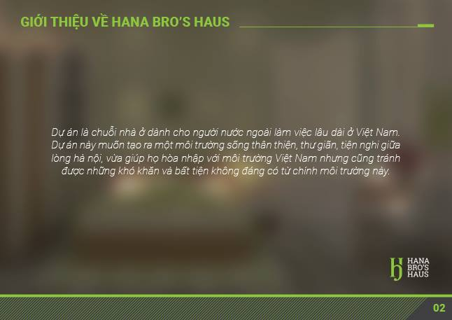 Hana Bro's Haus