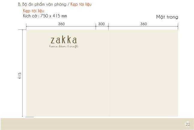 Thương hiệu nội thất Zakka