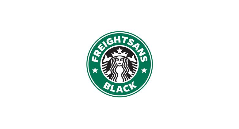 Khi tên các logo nổi tiếng được thay bằng tên font chữ của nó