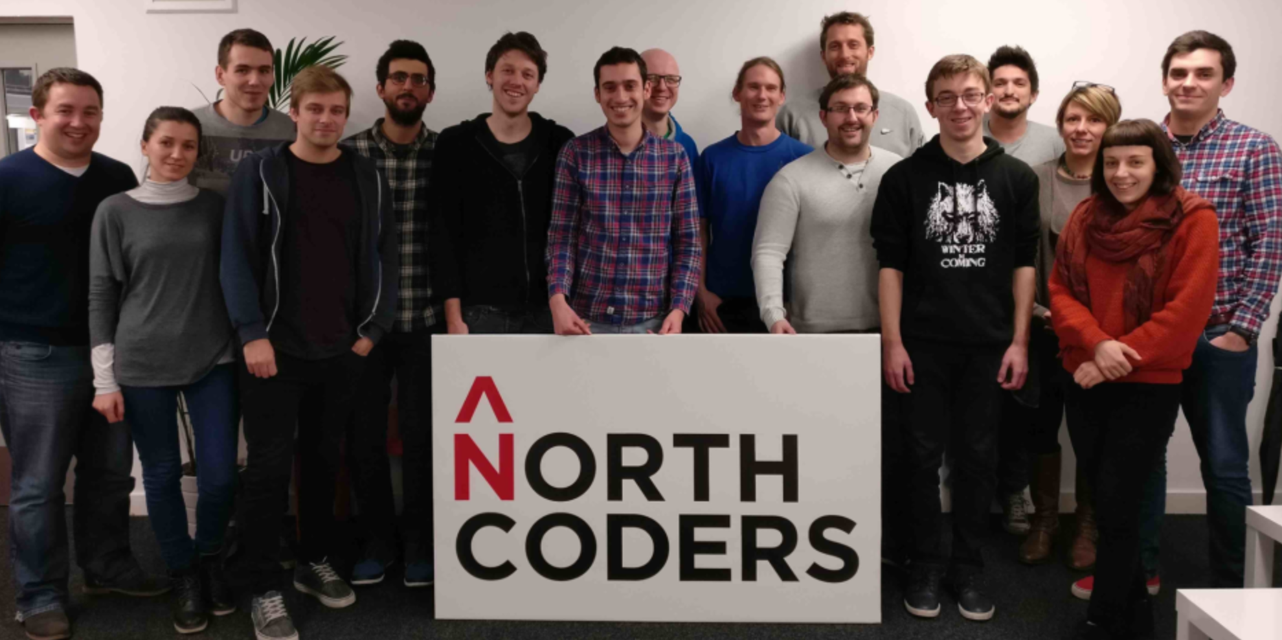 Cohort 4 graduates from Full-Time Coding Bootcamp Manchester