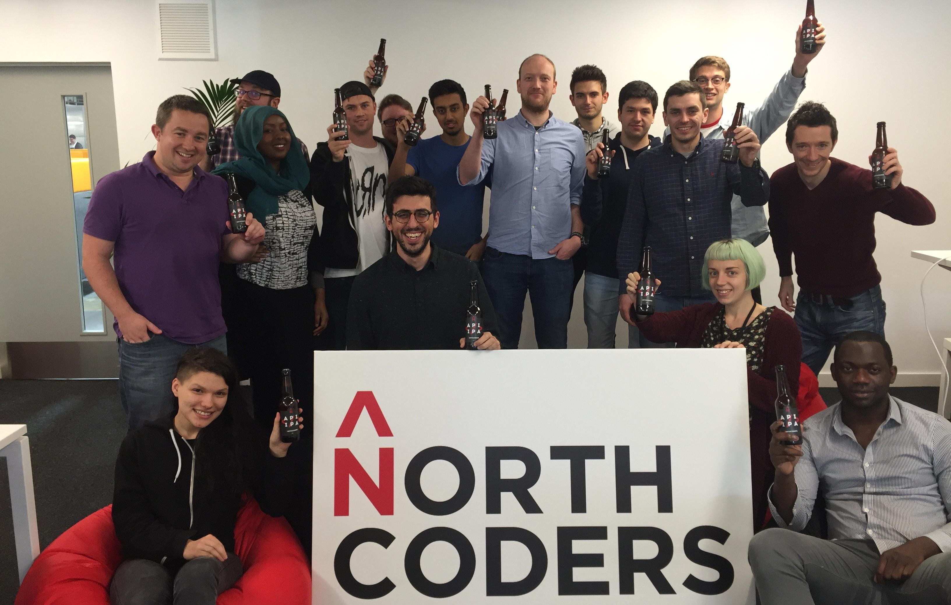 Cohort 2 graduates from Full-Time Coding Bootcamp Manchester