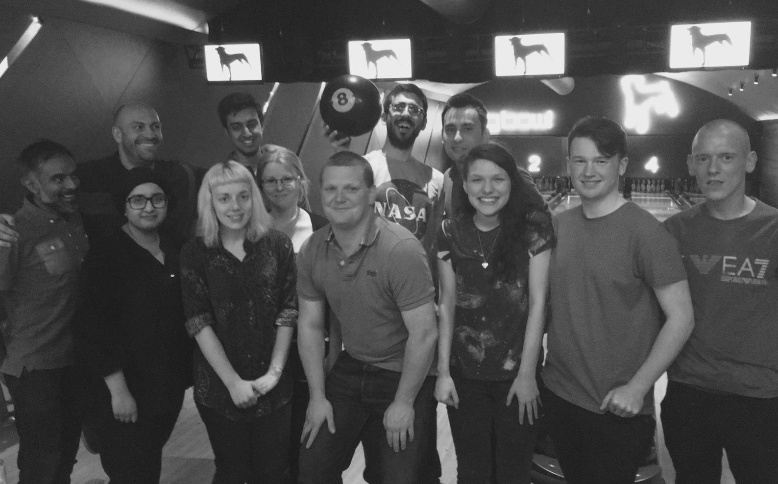 Cohort 1 graduates from Full-Time Coding Bootcamp Manchester