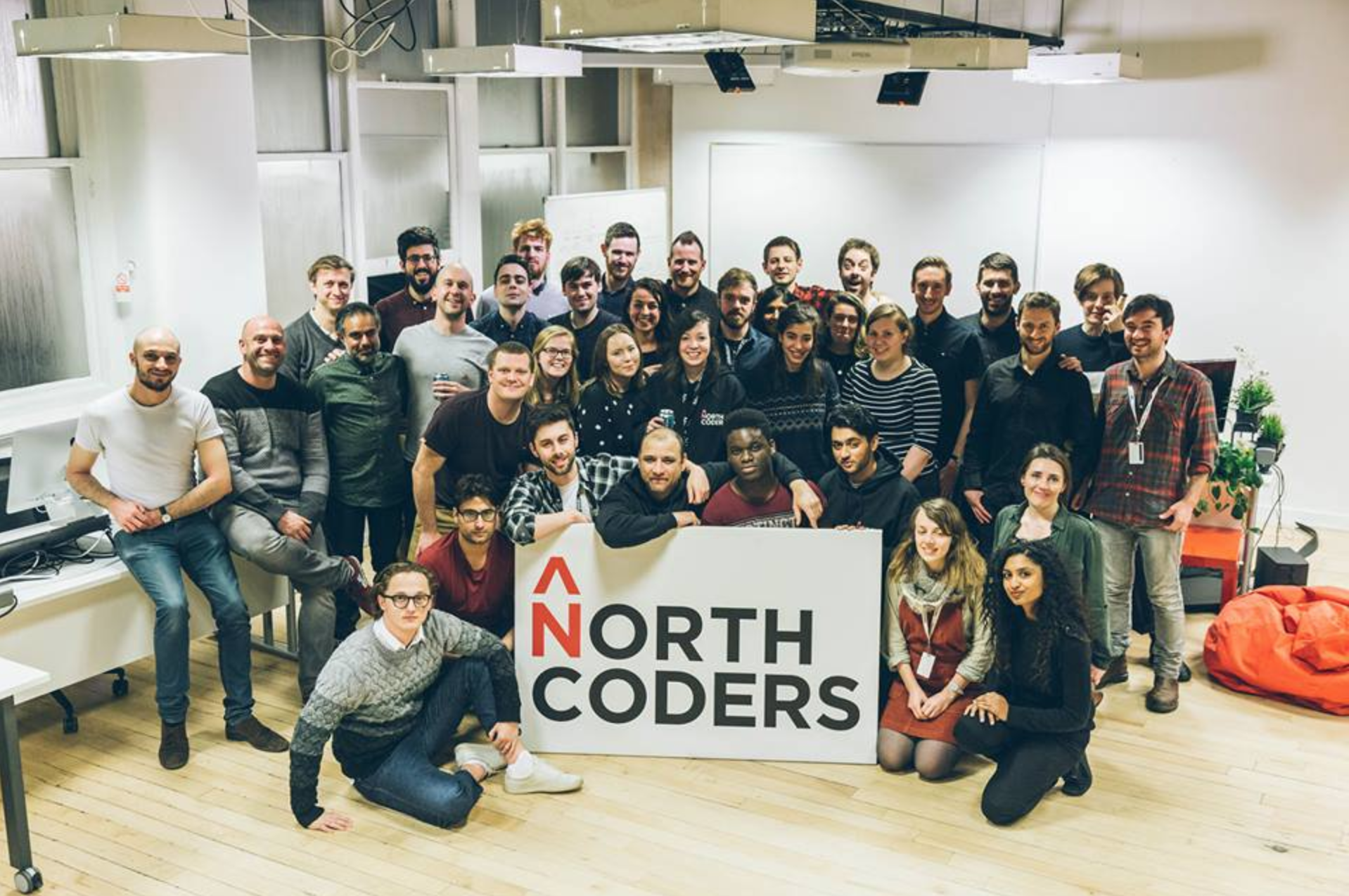 Cohort 5 graduates from Full-Time Coding Bootcamp Manchester