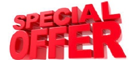 special offer in red