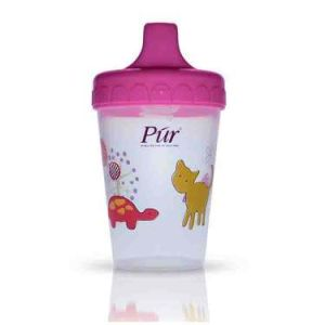 Pur Non Spill Cup, 200ml, 6m+ Code 5903-B Pink