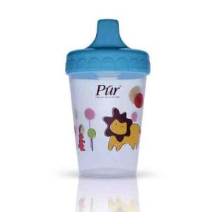 Pur Non Spill Cup, 200ml, 6m+ Code 5903-A Blue Color