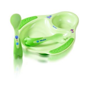 Pur Meal Time Set- Plate & Cutlery Code-5501 1