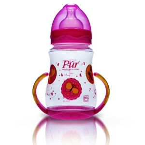 Pur Shaped Feeder With Handle 9oz 250ml Code-9027-A pink