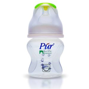 Pur Natural Extension Wide Neck Feeding Bottle- 5oz/130ml(0m+) Code-9001-C White