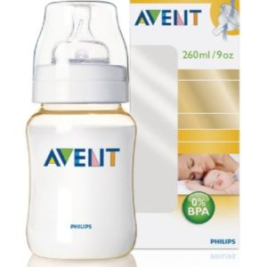 Avent Classic Feeding Bottle (260 ml/9oz) UK, SCF663/10