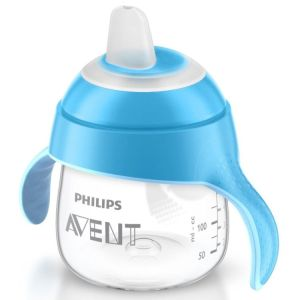 Avent Penguin Drinking Cup 12m+, 260ml Blue, UK SCF753/05