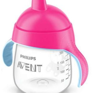 Avent Penguin Drinking Cup 12m+, 260ml Pink, UK SCF753/07