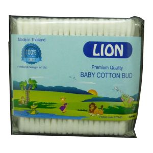 Lion Baby Cotton Bud 100pcspack, Thailand 5279 03