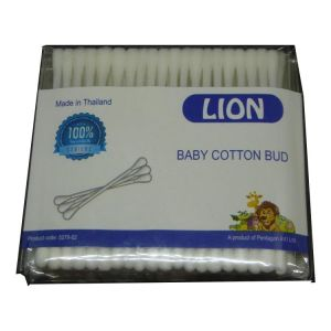 Lion Baby Cotton Bud 80pcspack, Thailand 5279-02