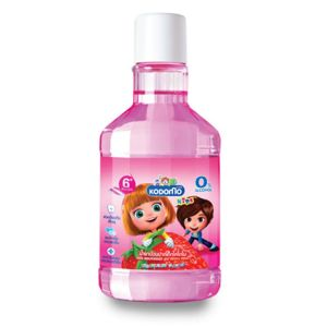 Kodomo Kids Mouthwash 6y+, Strawberry Flavor, 80ml KDM 785