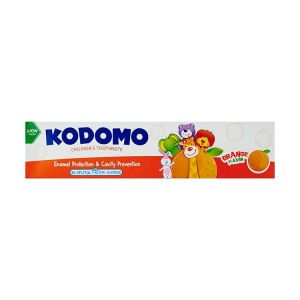 Kodomo Baby Toothpaste, Orange Flavor, 80gm KDM 780