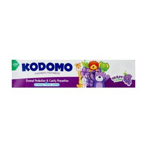 Kodomo Baby Toothpaste, Grape Flavor, 40gm KDM 788