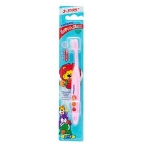 Kodomo Baby Toothbrush, Soft and Slim, 3-5y+ KDM 744