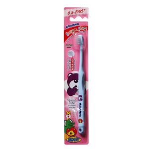 Kodomo Baby Toothbrush, Soft and Slim, 0.5-3y+ , 0.5-2y+ KDM 743