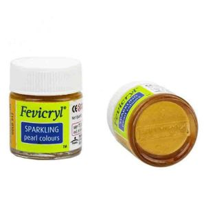 Fevicryl Acrylic Colour Pearl Metallic Gold 10ml P352